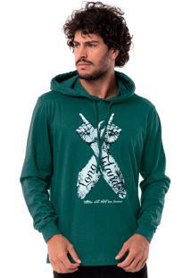 Camiseta Long Island Hands Verde