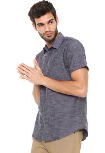 Camisa Forum Reta Azul