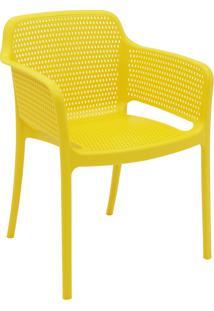 Cadeira Tramontina 92151000 Gabriela Polipropileno E Fibra De Vidro Amarelo