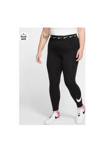 Plus Size - Legging Nike Sportswear Club Feminina