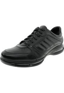 Sapato Masculino Air Full Ii Preto Democrata - 114101