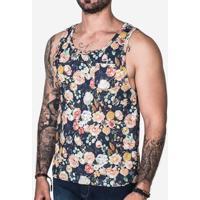 206b50aa9616e Camiseta Regata Long Beach Totem Floral Sabedoria Sublimada Masculina -  Masculino-Roxo. R  99