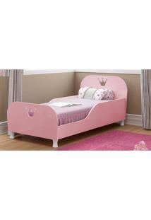Mini Cama Multimóveis Rei / Rainha 100% Mdf Para Colchão 150Cmx70Cm Rosa Purpura Ref.2321.116 Rosa