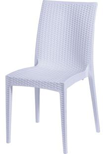 Cadeira Rattan S6380B – Or Design - Branco