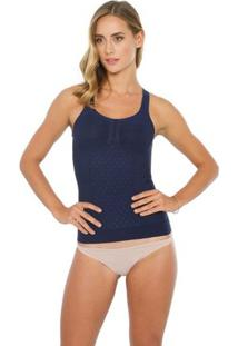 Regata Stretch - Feminino-Azul