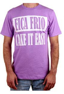 Camiseta Paolo Sesto Roxa