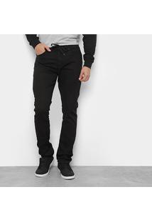 Calça Quiksilver Skate Sarja Black Masculina - Masculino