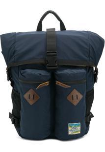 Polo Ralph Lauren Roll Top Hiking Backpack - Azul