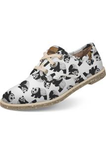 Oxford Casual Legend Vegano Panda Usthemp Branco