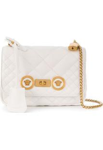 Versace Bolsa Tiracolo Pequena 'Icon' - Branco