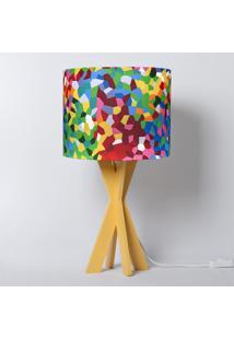 Abajur Carambola Salvador Colorido - Multicolorido - Dafiti