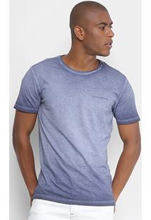 Camiseta Calvin Klein Estonada Logo Masculina - Masculino