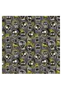 Papel De Parede Autocolante Rolo 0,58 X 5M - Caveiras 216171922