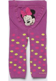 0394db50c6 Meia Calça Legging Mickey Mouse®- Roxa   Verdelupo
