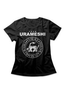 Camiseta Feminina Yu Yu Hakusho Preto