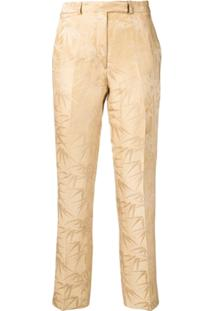 Etro Printed Trousers - Neutro