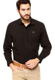 Camisa Forum Regular Fit Preta