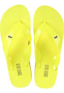 Chinelo Santa Lolla Flatform Neon Feminino - Feminino-Amarelo Fluorescente