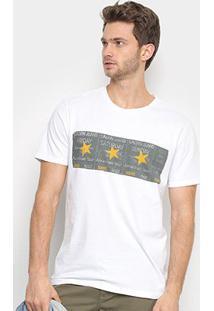 Camiseta Calvin Klein Friday Saturday Sunday Masculina - Masculino-Branco