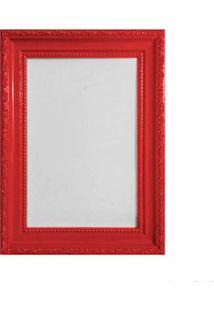 Porta Retrato 15X21Cm Queem Vermelho Brilhante Infinity