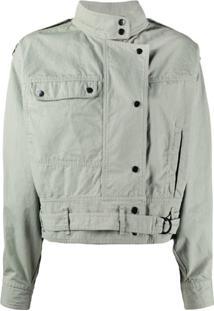 Isabel Marant Étoile Oversized Bomber-Style Jacket - Verde