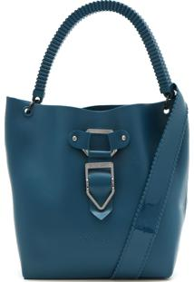 Bolsa Petite Jolie Fivela Azul