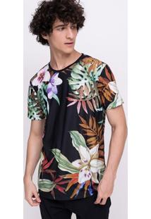 Camiseta Floral