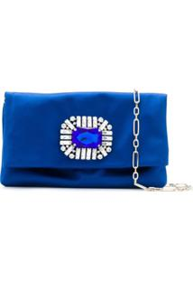 Jimmy Choo Clutch Titania - Azul