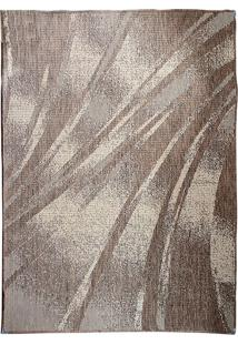 Tapete Sisllê Abstrato Ix Retangular Polipropileno (150X200) Mescla
