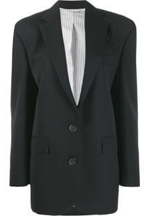 Acne Studios Menswear-Inspired Tailored Jacket - Preto