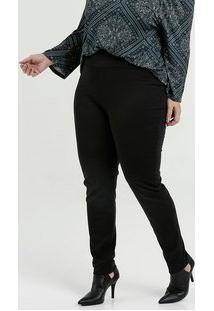 Calça Feminina Legging Bengaline Plus Size Marisa