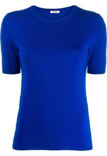 P.A.R.O.S.H. Blusa Lillad De Tricô - Azul