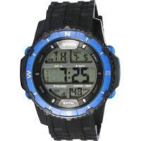10307f4dfeb Relógio Digital Speedo 81135G0 - Masculino - Preto Azul
