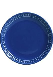 Jogo De Pratos Sobremesa 6 Pçs Sevilha Azul Navy Porto Brasil