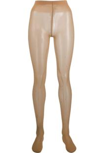 Wolford Crystal Affair Tights - Neutro