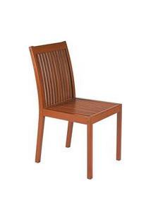 Cadeira Sem Braço Tramontina Terrazzo Fitt Madeira Sa6331
