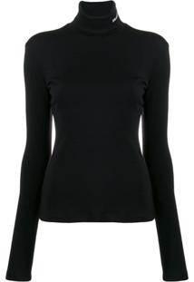 Calvin Klein Roll Neck Sweater - Preto