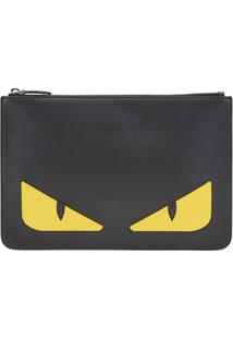Fendi Clutch Bag Bugs - Preto