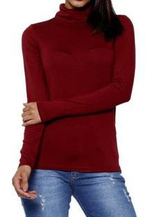 Vestido Youtwo Midi Plus Size - Feminino-Vinho