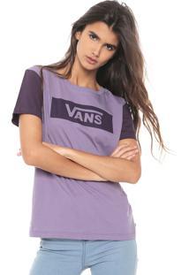 Camiseta Vans Tangle Range Ri Dayb Lilás/Roxa