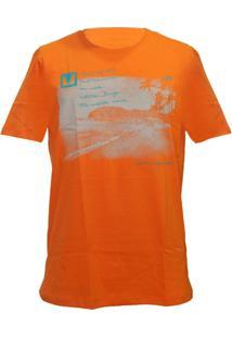 Camiseta Mormaii Neblask - Masculino-Laranja