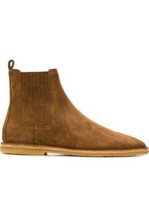 Saint Laurent Ankle Boots - Marrom