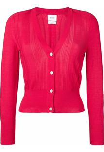 Barrie Cardigan Slim - Rosa
