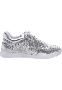 Tênis Glitter Silver   Schutz