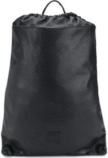 Versace Jeans Couture Mochila Com Logo - Preto