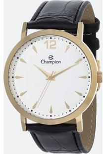 Kit Relógio Feminino Champion Ch22715W Analógico + Conjunto Semijóia