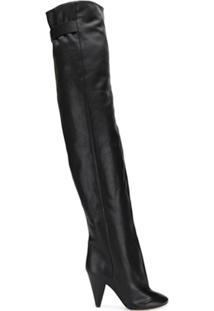 Isabel Marant Bota Over-The-Knee - Preto