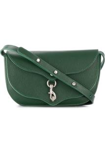 Rebecca Minkoff Megan Lobster-Closure Crossbody Bag - Verde