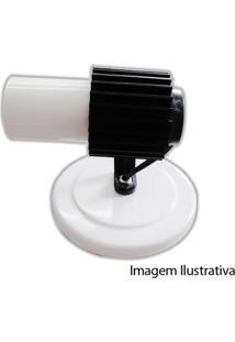 Spot Aleta Branco Para 1 Lâmpada Ref. 190/1