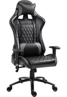Cadeira Gamer Duty Preta E Cinza